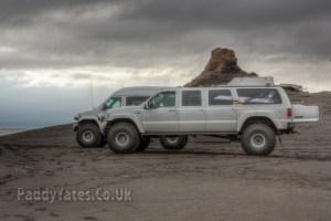 Monster beach trucks