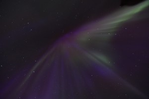 Aurora burst, corona of the lights