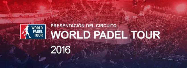 PRESENTAZIONE WORLD PADEL TOUR 2016 MADRID