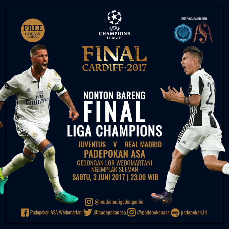 Nobar Final UEFA Champions League