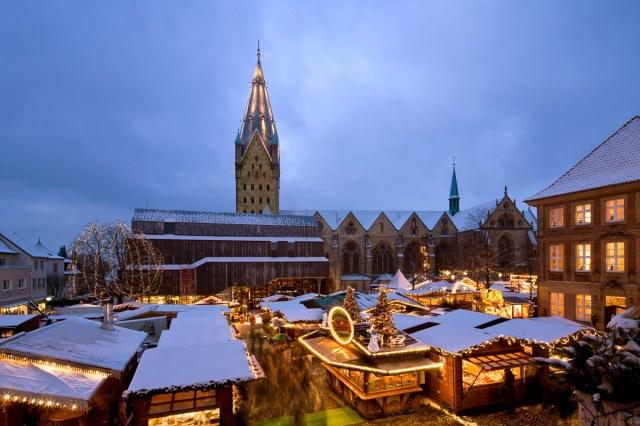 Weihnachtsmarkt Paderborn Domplatz