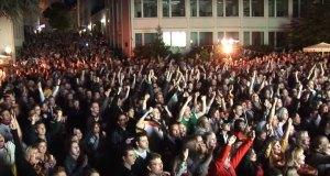 Public Viewing Paderborn EM 2016 Franz-Stock-Platz
