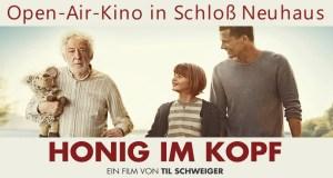 Open Air Kino Schloß Neuhaus Honig im Kopf Paderborn 2016