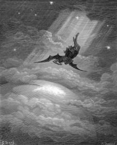 Sotonin pad s neba