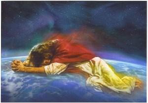 Isus Posreduje Za Palo Čovečanstvo