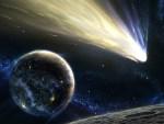 Kometa prolazi pored planete