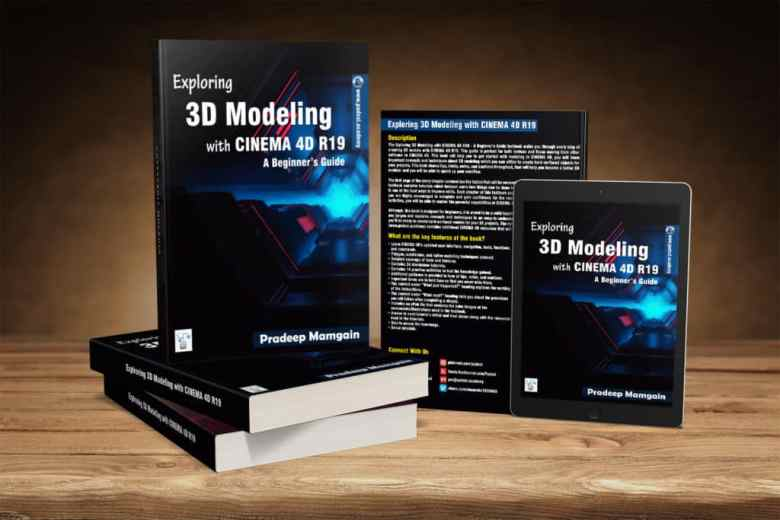 Book – Exploring 3D Modeling with CINEMA 4D R19