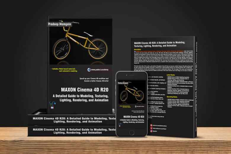 Book – MAXON Cinema 4D R20: A Detailed Guide to Modeling, Texturing, Lighting, Rendering, and Animation