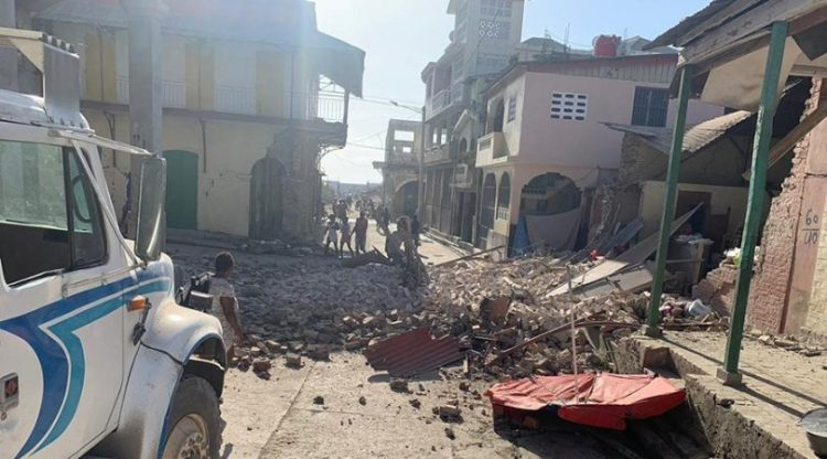 A 7.2 magnitude earthquake struck southwestern Haiti on August 14, 2021.