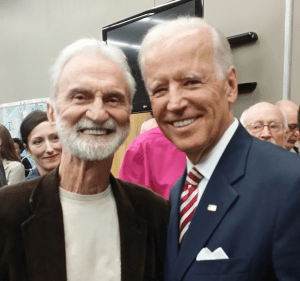 Lyle meets Vice President Joe Biden in 2016