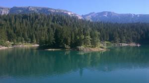 PADI Altitude Diver - Caumasee Switzerland