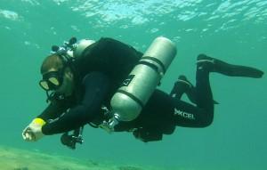 PADI tec40 Diver