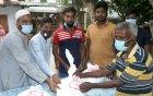 কাজলা সমাজসেবা উন্নয়ন সংস্থার ঈদ সামগ্রী বিতরণ