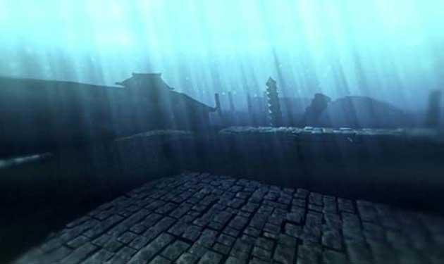 পানি নিচে রহস্যের প্রাচীন শহর