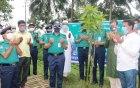 আরএমপি'র মতিহার ক্রাইম বিভাগে বৃক্ষরোপণ করলেন কমিশনার