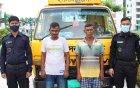 সলঙ্গায় ১০ কেজি গাজাসহ দুই মাদক ব্যবসায়ী গ্রেপ্তার
