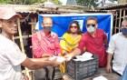 রাজশাহীতে আইএইচসিআরএফ সংগঠনের খাবার বিতরণ অব্যহত