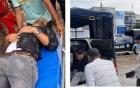 দুর্ঘটনায় আহত ফায়ার সার্ভিস কর্মীকে হাসপাতালে নিলেন এসি ল্যান্ড
