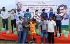 রাজশাহীতে শহীদ শেখ কামালের জন্মবার্ষিকী উপলক্ষে প্রীতি ফুটবল খেলার পুরস্কার বিতরণ