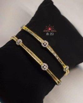 american diamond thin bangles