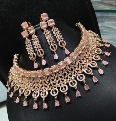kundan premium necklace