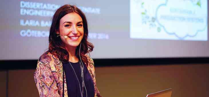 New licentiate: Ilaria Barletta!