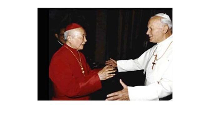 Carta nº 1 sobre el encuentro con el cardenal Ignatius Kung Pin-Mei