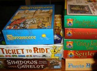 Algunos de los juegos de mesa más populares