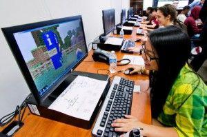 Minecraft en las aulas