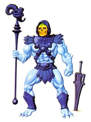 Skeletor de los Masters del Universo