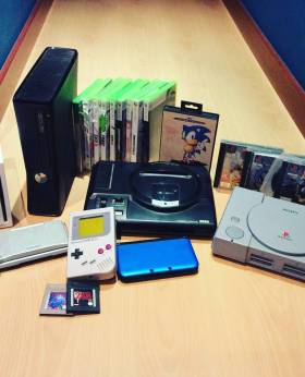 Mi colección de consolas retro y actuales