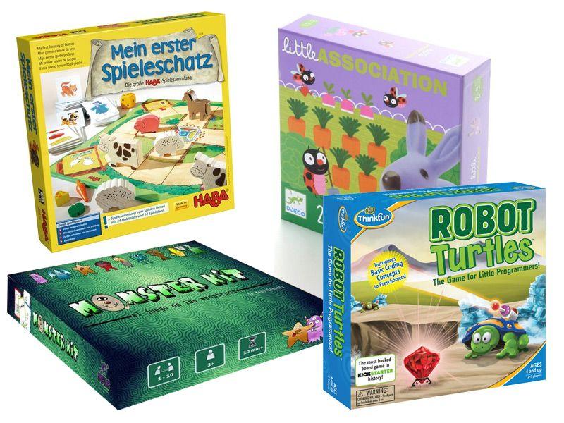 Juegos De Mesa Para Ninos De 3 A 5 Anos Padres Frikis