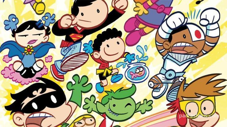 Cómics de superhéroes para niños