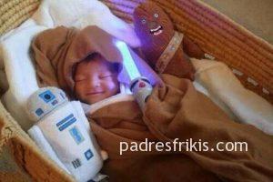 Bebé friki Star Wars