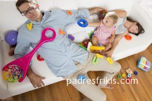 Padres cansados