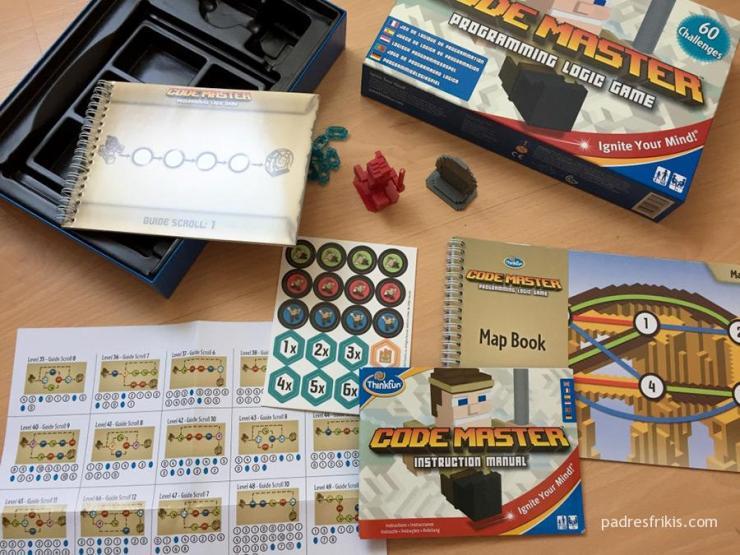 Code Master juego de mesa