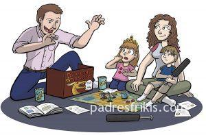Rol con niños peques