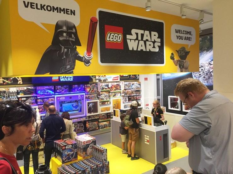 Tienda LEGO en Copenhague