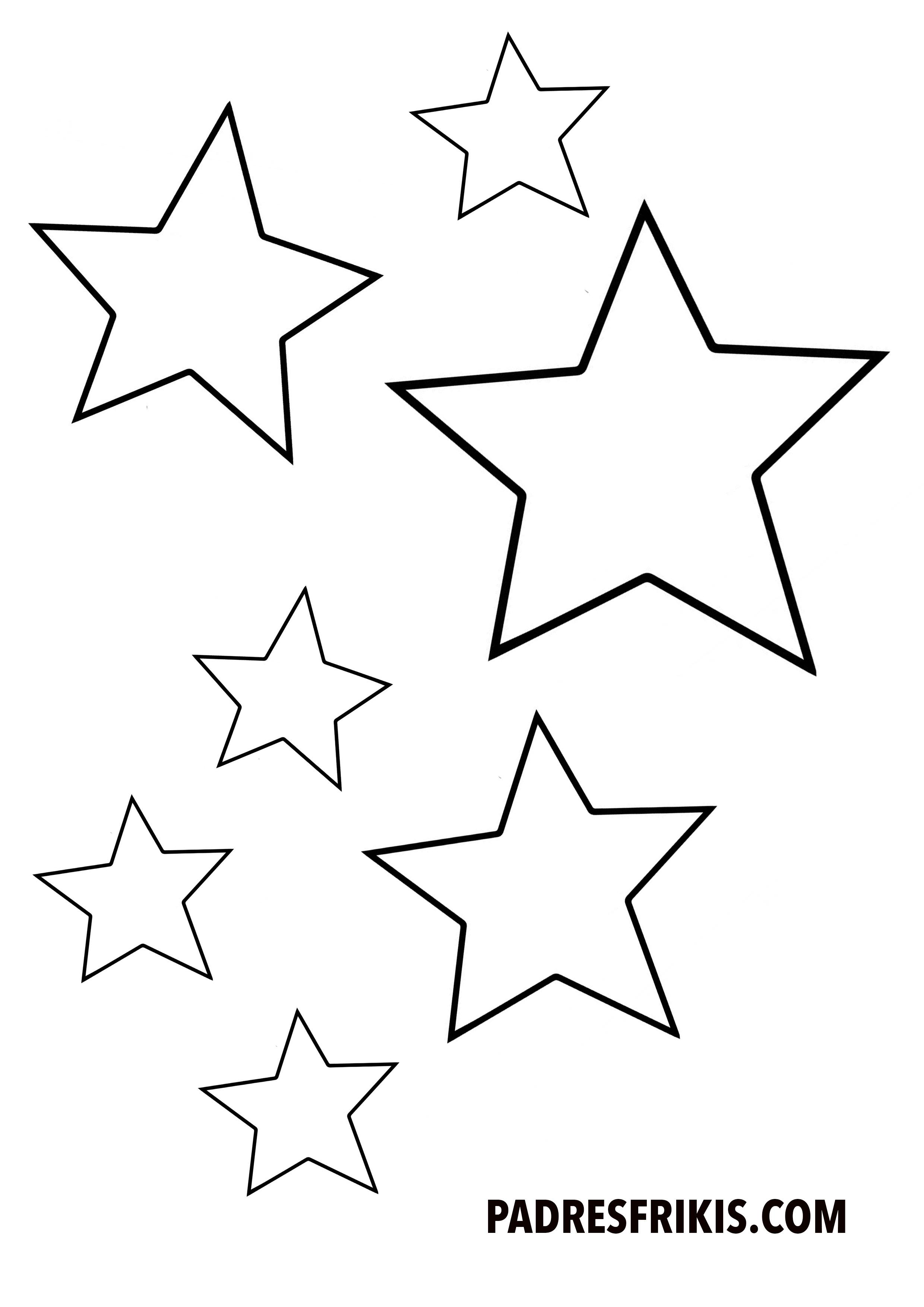 Plantillas De Estrellas Para Decorar.20 Manualidades Para Imprimir Y Hacer Con Tus Hijos