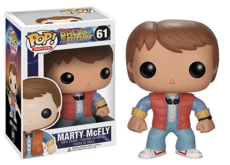 Funko de Marty McFly (Regreso al Futuro)