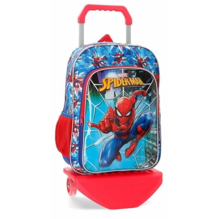 Mochila Escolar Spiderman 40x30x13 cm