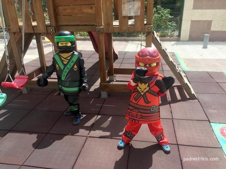 Disfraces infantiles de LEGO Ninjago