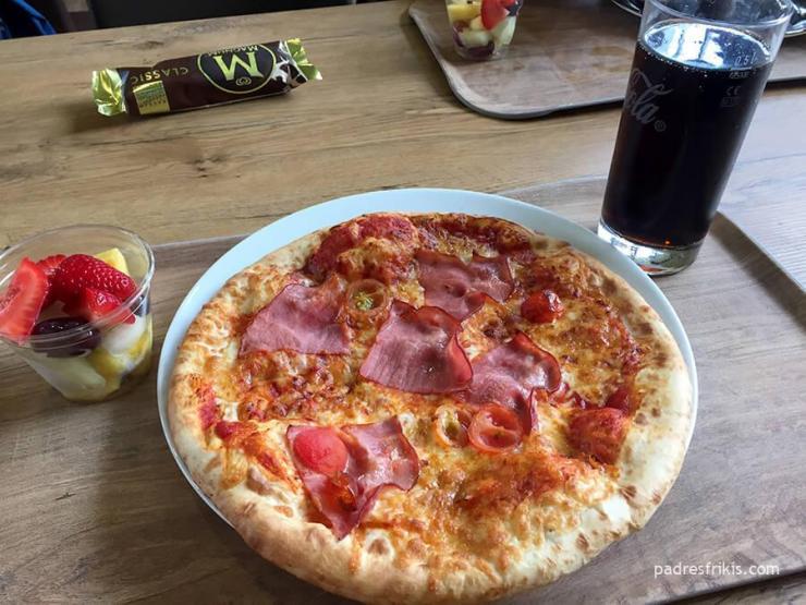 Pizza de Legoland Alemania