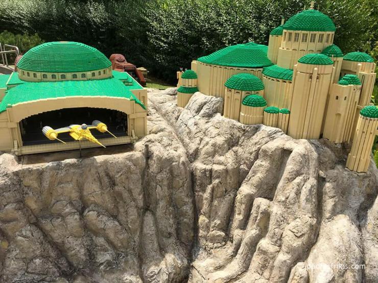 Maqueta Star Wars en Legoland Deutschland