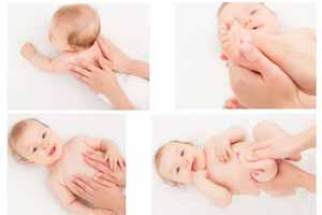 Resultado de imagen para masajes de contencion bebes