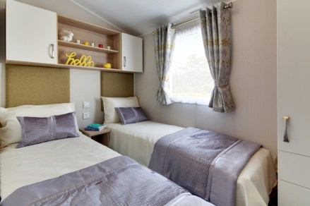 Willerby Sierra Bedroom