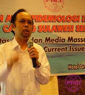 Ahli Epidemiologi Indonesia Cabang Sulsel Gelar Site Visit Media