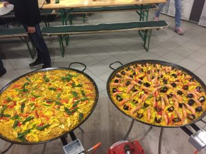 Paella indoor