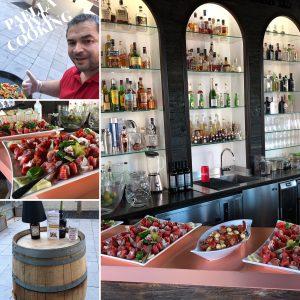 Paella und Cocktails