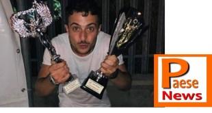 Castellabate / Sessa Aurunca – Fabio Cupolino al Campania Festival, porta a casa due premi e il plauso del pubblico